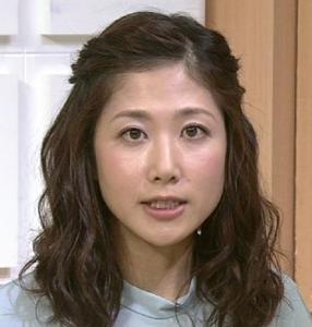 前髪アレンジの桑子真帆アナ